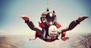 Skydive in Queenstown – Absprung aus 15.000 Fuß Höhe