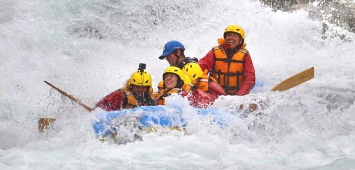 Whitewater Rafting – Rafting mit Grad 3 bis 5 auf dem Shotover River