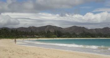 Kailua Beach im Nordosten von Oahu