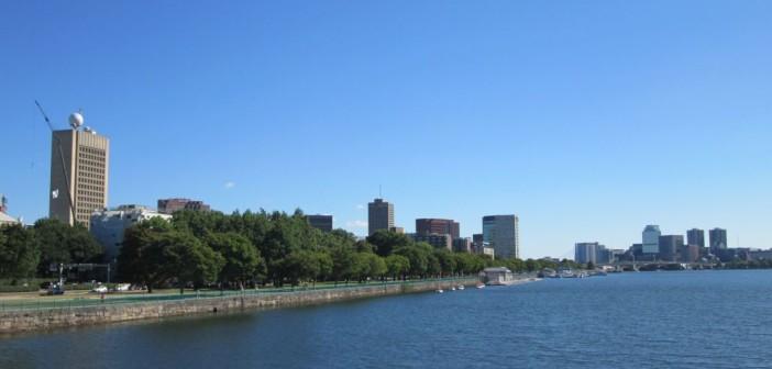 Schöne Laufstrecke vom HI Hostel in Boston