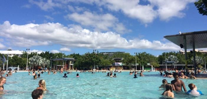 Cairns Esplanade Lagoon – Abkühlung mitten in der City