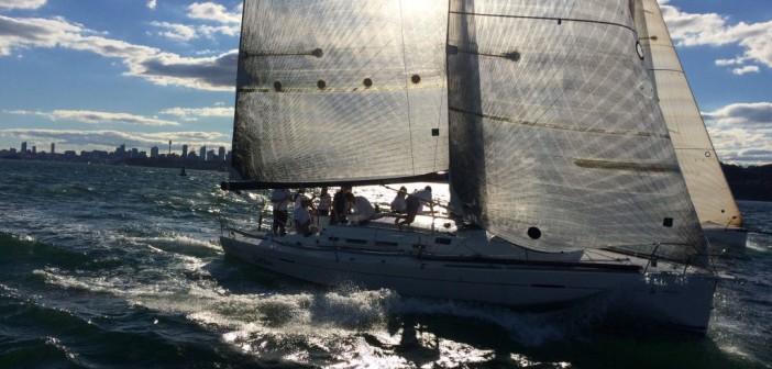 Cruising Yacht Club of Australia – An Bord bei einem Rennen