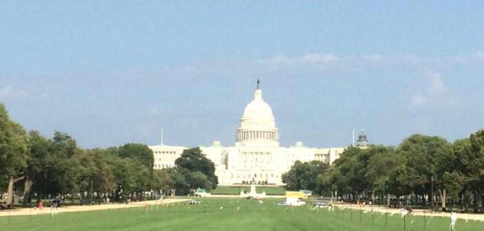 Schöne Laufstrecke mit Sightseeing in Washington D.C.