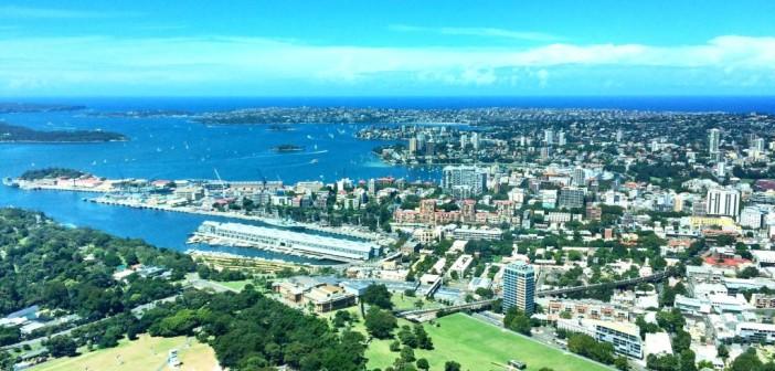 Sydney Tower – Toller Ausblick über Sydney und den Hafen