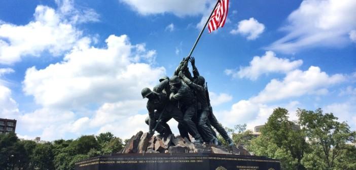 US Marine Corps War Memorial bzw. Iwo Jima Memorial