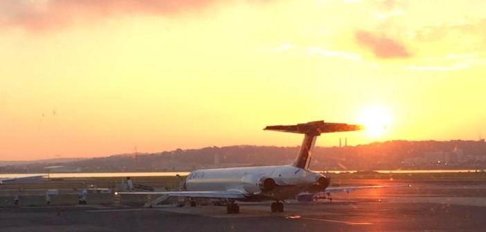 Weiter geht's – Flug von Washington nach Las Vegas
