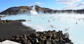 Die Blaue Lagune bei Grindavik nahe Reykjavik